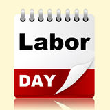 Labor Day Shows Holiday American And Patriotism Stock Photos