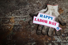 Labor day sign Stock Image