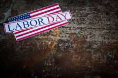 Labor day sign Royalty Free Stock Photo