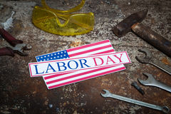 Labor day sign Stock Images