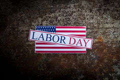 Labor day sign Royalty Free Stock Photography