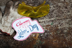 Labor day sign Stock Photos