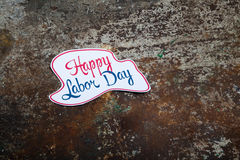 Labor day sign Royalty Free Stock Photos