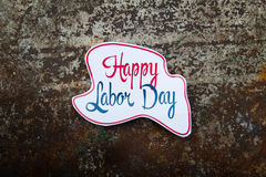 Labor day sign Royalty Free Stock Images