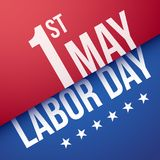 Labor day, 1st may. Vector illustration Stock Illustration