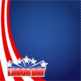 labor day star sign illustration design graphic Stock Image