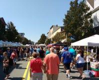 Street Fair, Rutherford, NJ, USA Stock Photo