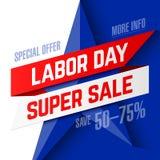 Labor Day Super Sale Stock Image