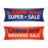 Labor Day Super Sale banner Royalty Free Stock Images