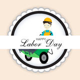 Labor Day. Vector illustration of a background for Happy Labor Day Royalty Free Stock Images