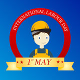 Labor Day. Vector illustration of a background for Happy Labor Day Stock Photo