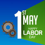 Labor Day. Vector illustration of a background for Happy Labor Day Royalty Free Stock Photo