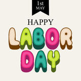 Labor Day. Vector illustration of a background for Happy Labor Day Royalty Free Stock Photos