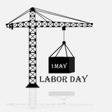 Labor Day. Vector illustration of a background for Happy Labor Day Royalty Free Stock Image