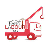 Labor Day. Vector illustration of a background for Happy Labor Day Stock Image