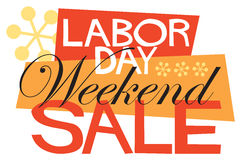 Labor Day Weekend Sale Stock Images