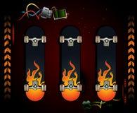 Labor der Skateboards Stock Abbildung