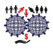 Labor Exploitation vector illustration