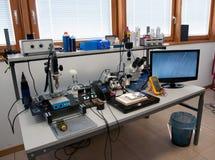Labor für das Wieder.herstellen von Daten Stockfotografie