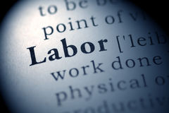 Labor Royalty Free Stock Images