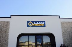 Labor Finders, Memphis, TN. Labor Finders, provides temporary staffing and labor services for commercial, industrial, and construction applications, through its Royalty Free Stock Photography