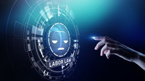 Labor Law Lawyer Legal Business Consulting concept. Labor Law Lawyer Legal Business Consulting concept stock images