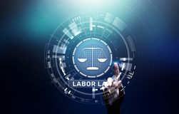 Labor Law Lawyer Legal Business Consulting concept. Labor Law Lawyer Legal Business Consulting concept royalty free stock images