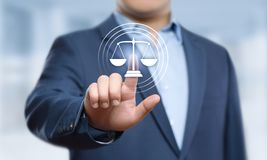 Labor Law Lawyer Legal Business Internet Technology Concept.  royalty free stock photo