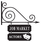 Labor market actors Royalty Free Stock Photography