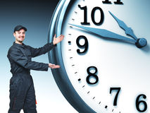 Labor and time Royalty Free Stock Image
