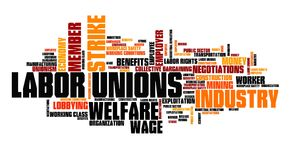 Labor unions Royalty Free Stock Photo