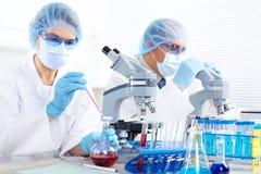Labor. Wissenschaftsteam Stockfotografie