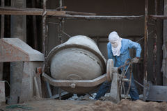 Labor. A labor working construction ste Royalty Free Stock Images
