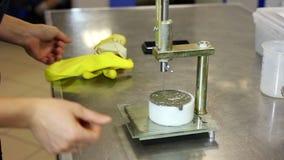 Laboranccy testy w produkci cement i beton zdjęcie wideo