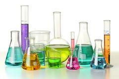 Laborancki Glassware obrazy royalty free