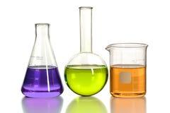 Laboraory-Glaswaren Lizenzfreie Stockbilder