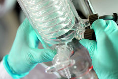 Laboratório 2012 junho Foto de Stock Royalty Free