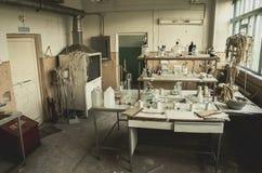 Laboratório abandonado Rússia Imagem de Stock Royalty Free