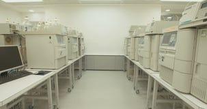 Laboratório da companhia farmacéutica vídeos de arquivo