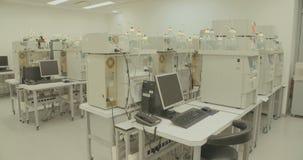 Laboratório da companhia farmacéutica video estoque