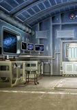 Laboratório da ficção científica Fotografia de Stock Royalty Free