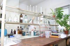 Laboratório de Oldschool Fotografia de Stock