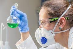 Laboratório do cientista Fotos de Stock