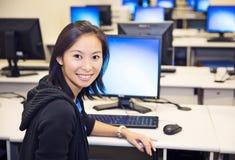 Laboratório do computador Fotos de Stock