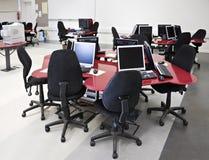 Laboratório do computador Imagens de Stock Royalty Free