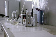 Laboratório do leite Fotos de Stock Royalty Free