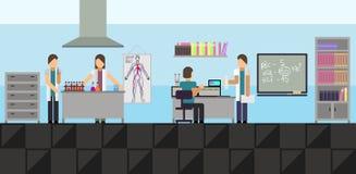 Laboratório médico grande Fotos de Stock Royalty Free