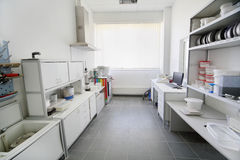 Laboratório pequeno de misturas secas da construção Imagem de Stock