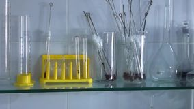 Laboratórios médicos do equipamento filme