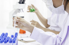 Laboratoire biomédical Photo libre de droits